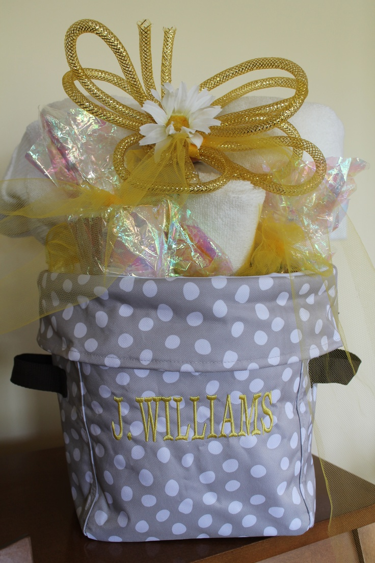 cute bridal shower gift in a 31 bag mini utility tote