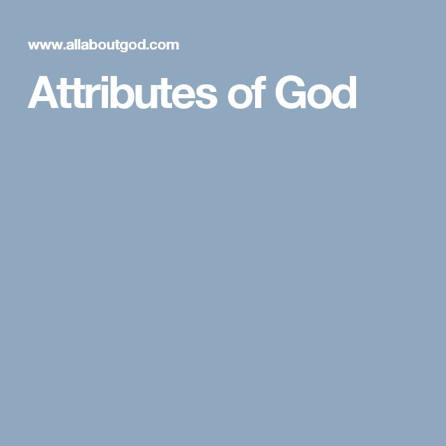 Let Me See Thy Glory - A Study of the Attributes of God ...