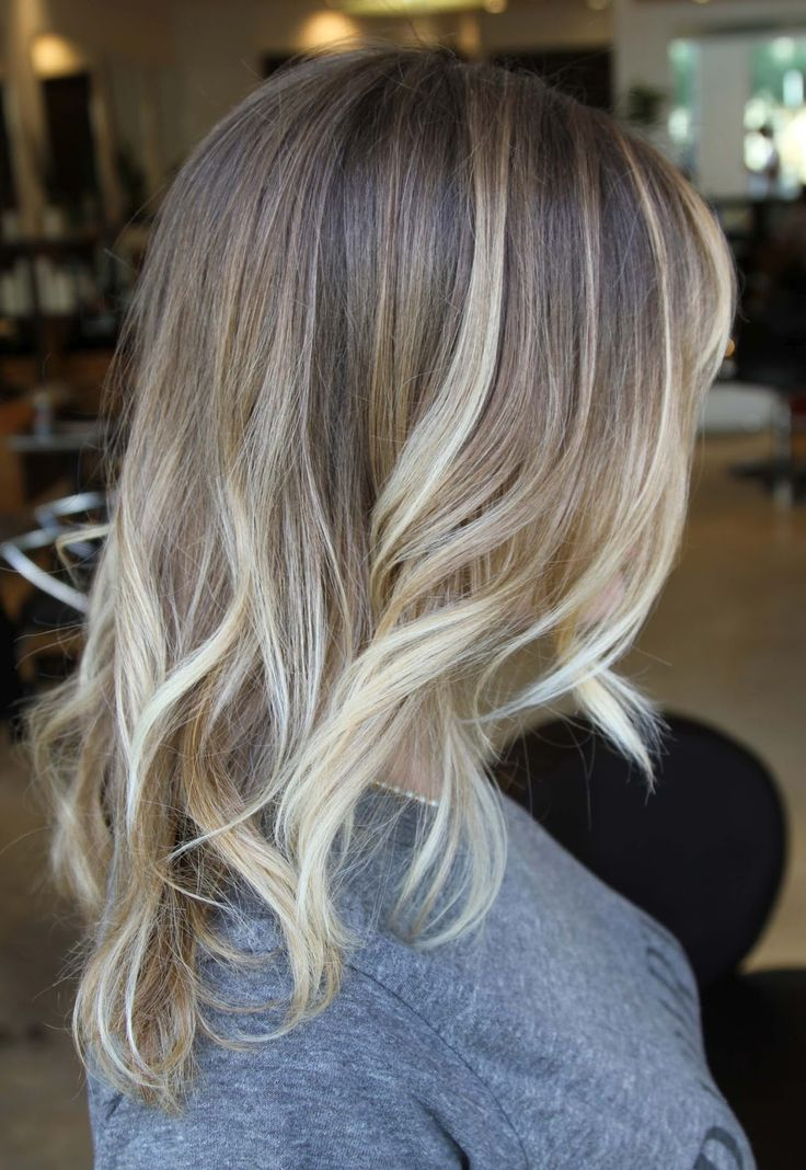 Love this style; would love to try a darker bayalage similar to this when my hair gets longer