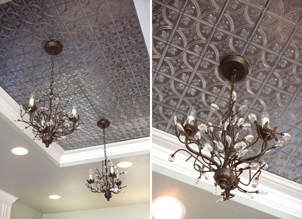 396 best decorative ceiling tiles images on pinterest dream saras kitchen tour part 1 metal ceilingceiling tilesrecessed mozeypictures Images