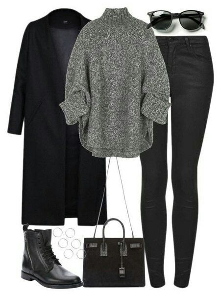 This outfit is very similar to one that I often wear on lazy days during this past winter season.