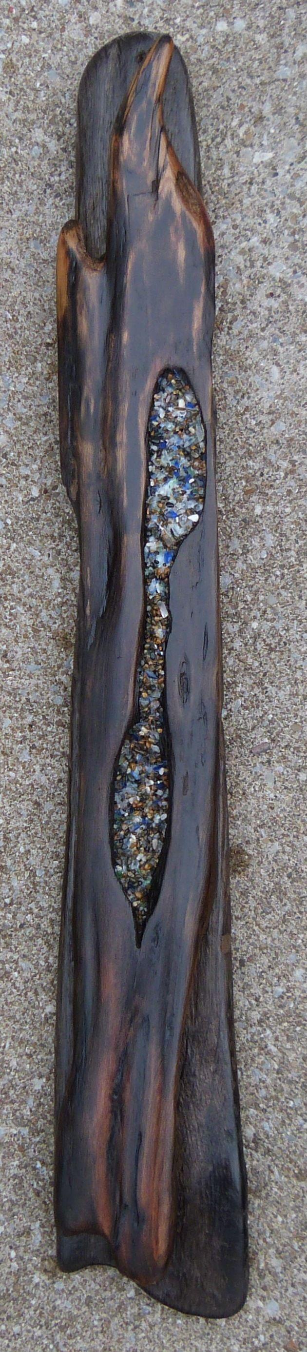 Slender- driftwood wall hanging by Ballard Woods