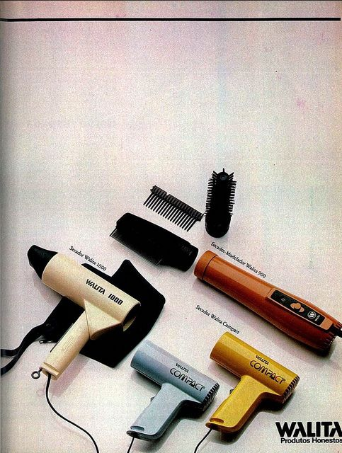 80's Ad - 1981 Walita hair dryers by Gugue, via Flickr