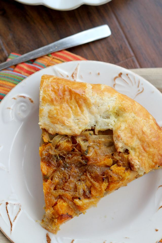 ... Eats Well With Others | Butternut Squash and Caramelized Onion Galette