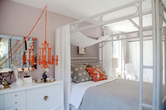 Best 25 Grey Orange Bedroom Ideas On Pinterest Grey And