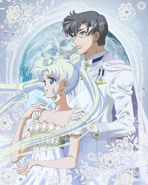 Sailor Moon Crystal Limited Edition Japanese Blu-ray Volume 11 Cover Artwork featuring Neo Queen Serenity and King Endymion. Buy here http://www.moonkitty.net/where-to-buy-sailor-moon-crystal-bluray-dvd-reviews.php