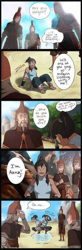 The Legend of Korra: this would have been hilarious