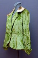 1920's silk velvet evening jacket from The Mabs Collection