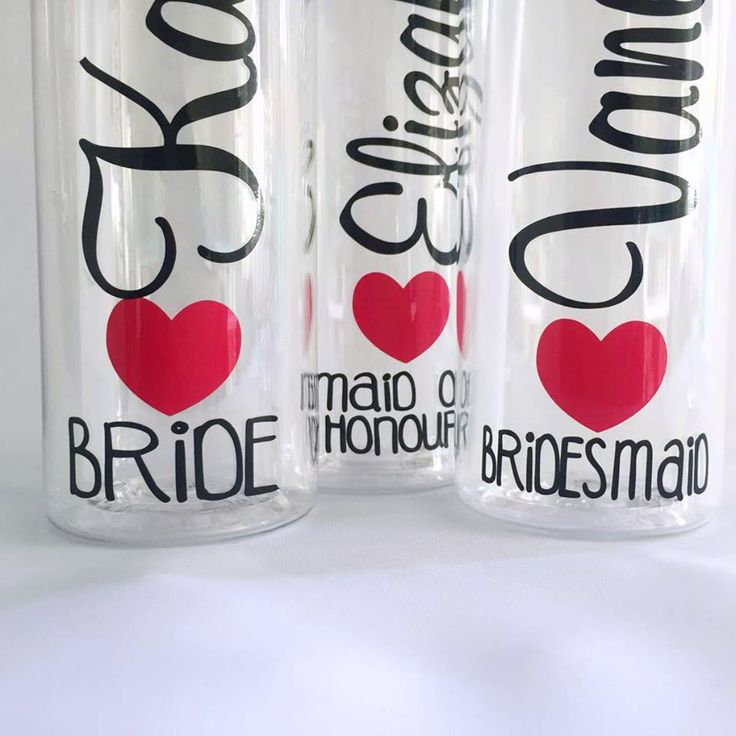 personalised Water bottle for weddings; by Bridal bling australia; www.bridlabling.com.au