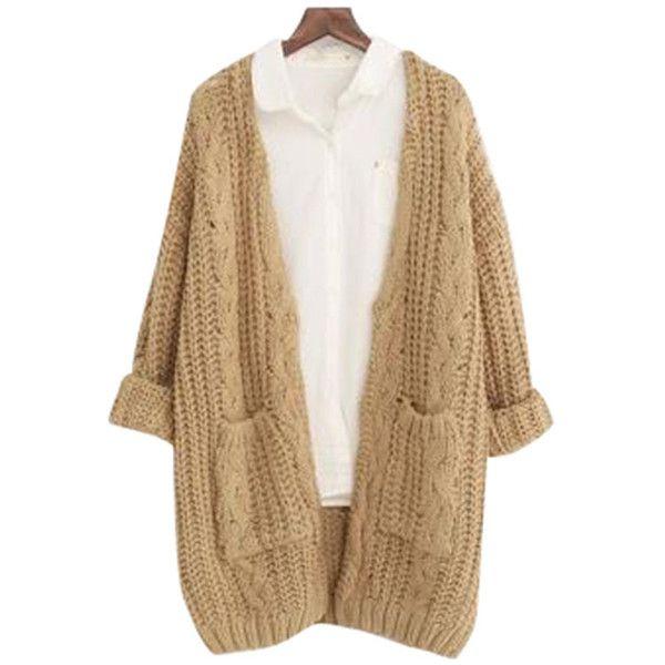 Knitting Patterns For Long Cardigan Chunky : Best 25+ Chunky Knit Cardigan ideas on Pinterest Knit ...