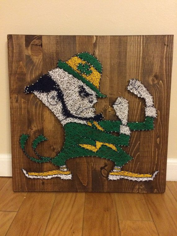 Hey, I found this really awesome Etsy listing at https://www.etsy.com/listing/253320069/notre-dame-fighting-irish-string-art
