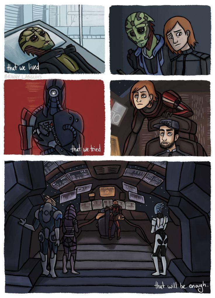 Mass Effect - Into Battle Comic 4