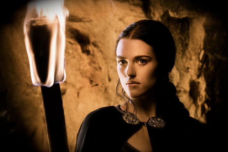 Morgana Pendragon...before she was bad. Those times, however, have come and gone.