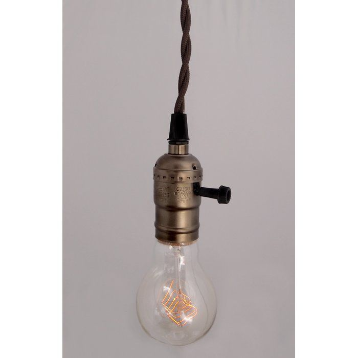 Pendant Light Kit With Switch : Best pendant light kits ideas on plug in