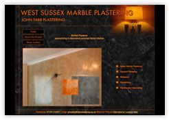 Cottagewebs Directory of Websites: For the Home and Garden. This website is for Sussex Marble Plastering.