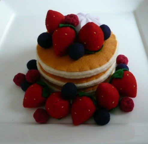 tutorial pannolenci  | Felt food: il cibo fatto in pannolenci