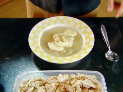 Chicken and Dropped Dumplings Recipe | Alton Brown | Food Network