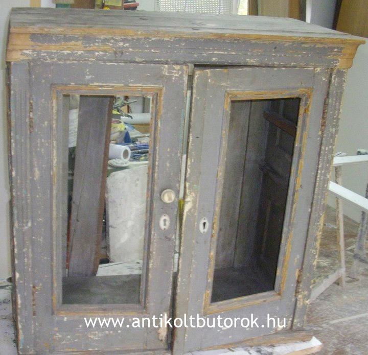Found an old cabinet...  www.antikoltbutorok.hu www.facebook.com/Antikoltbutorok