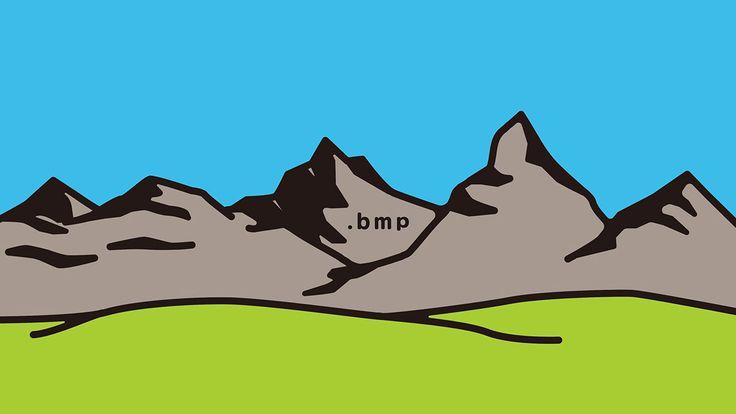 mountain on Behance
