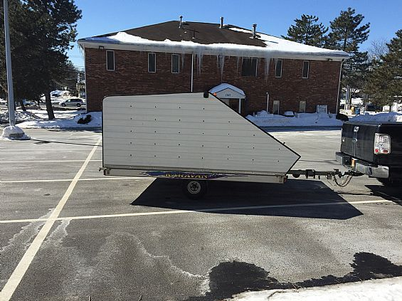 1998 Karavan Enclosed Trailer Snowmobile Trailers For Sale in Albany, NY A00011 | Want Ad Digest Classified Ads