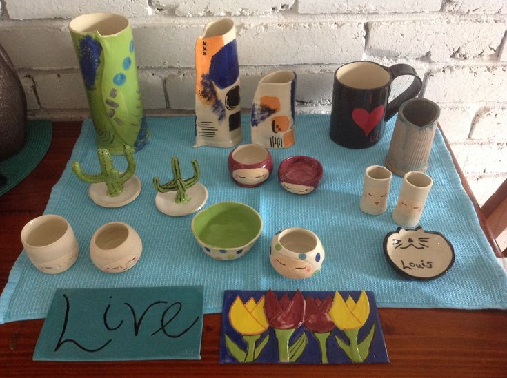 Latest pottery creations
