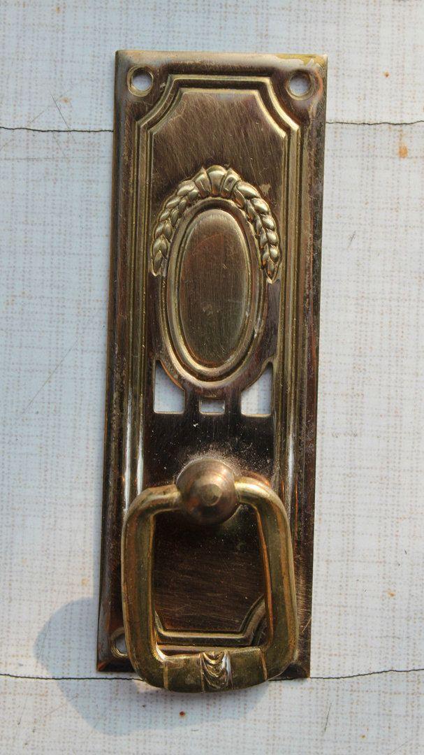 schl sselschild messing gepr gt jugendstil antik um 1900 art nouveau pinterest. Black Bedroom Furniture Sets. Home Design Ideas