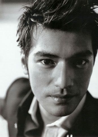 Takeshi Kaneshiro. the only asian guy I ever found attractive.