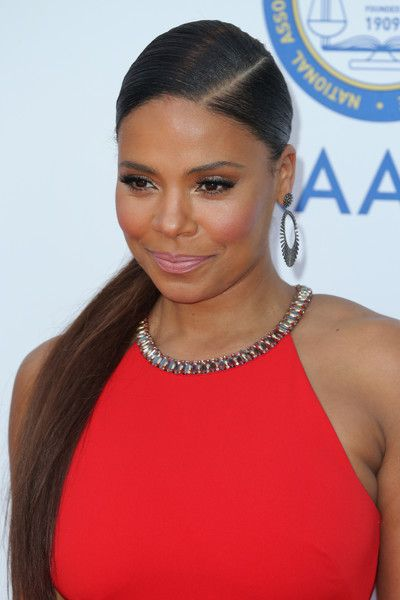 Sanaa Lathan Photos Photos - Actress Sanaa Lathan attends the 47th NAACP Image Awards presented by TV One at Pasadena Civic Auditorium on February 5, 2016 in Pasadena, California. - 47th NAACP Image Awards Presented By TV One - Arrivals