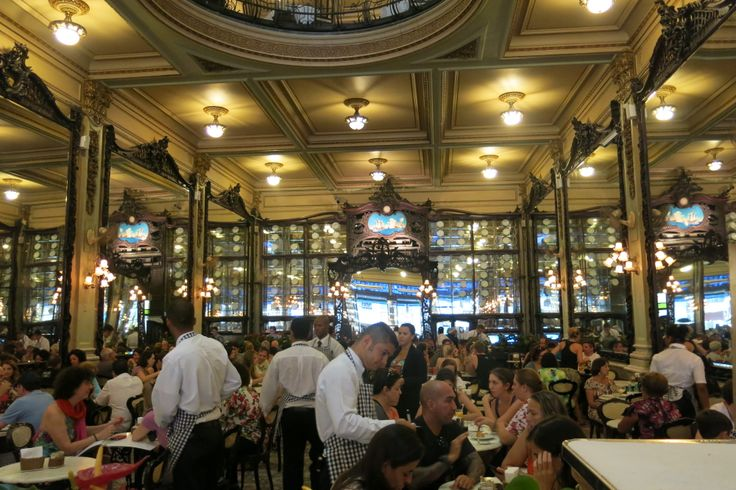 Old-fashioned colonial grand cafe, still marvelously rica.