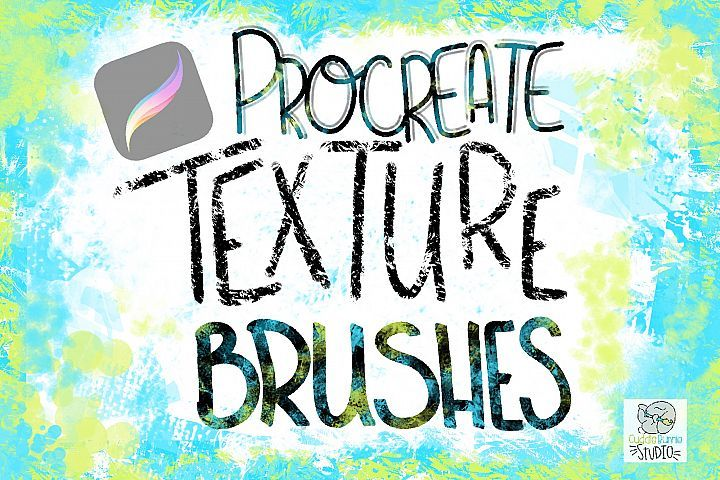 Procreate Fun Texture Brushes | Procreate Brushes | Texture