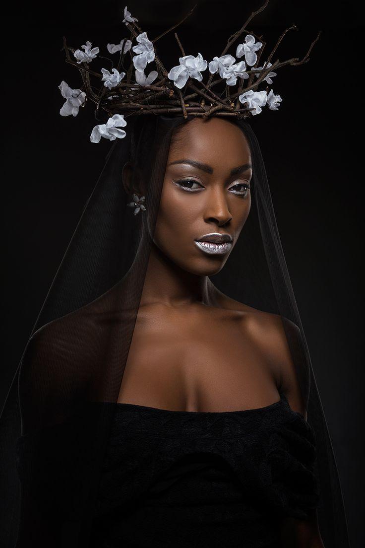 """darkbeautymag: """" Photographer: Igor Zaitcev Stylist: Raimonda Sakalauskė Hair/Makeup: Valentina Nikulina Harlamova Model: Yasmin Øydne @ SB Produksjoner """""""