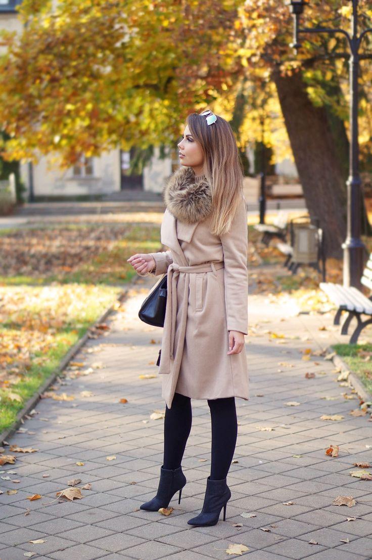 A PIECE OF ANNA - blog modowy, blog o modzie, blogerka z lublina: BEIGE AUTUMN COAT | beżowy płaszcz w jesiennej stylizacji