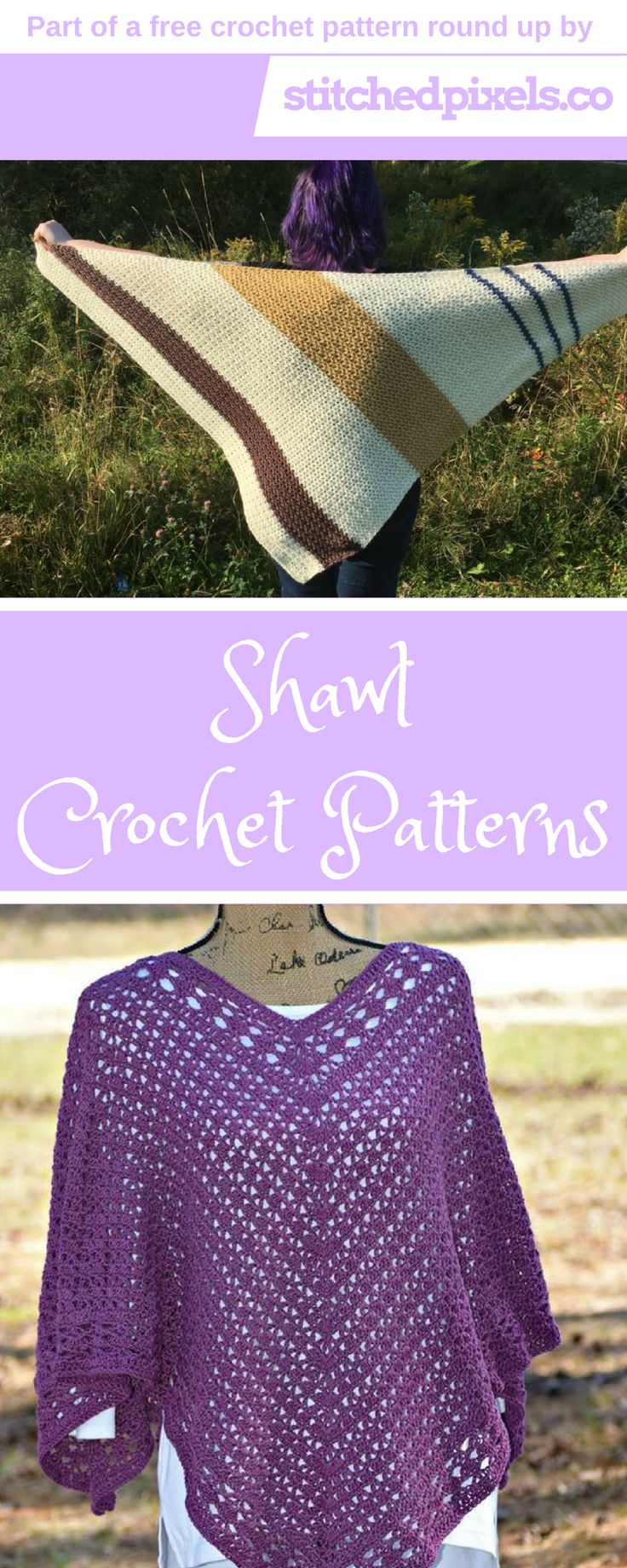 Check out the Free Shawl Crochet Pattern Round up! There are 11 FREE patterns, so you can take a break from all that gift making, and make something for yourself! To get the patterns, just click the photo!