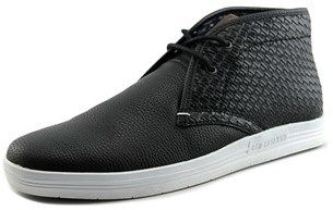 Ben Sherman Vance Men Plain Toe Synthetic Black Chukka Boot.