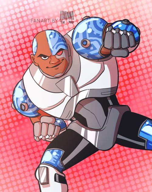 Teen Titans: Cyborg -   http://johannathemad.tumblr.com/post/161062333547/teen-titans-go