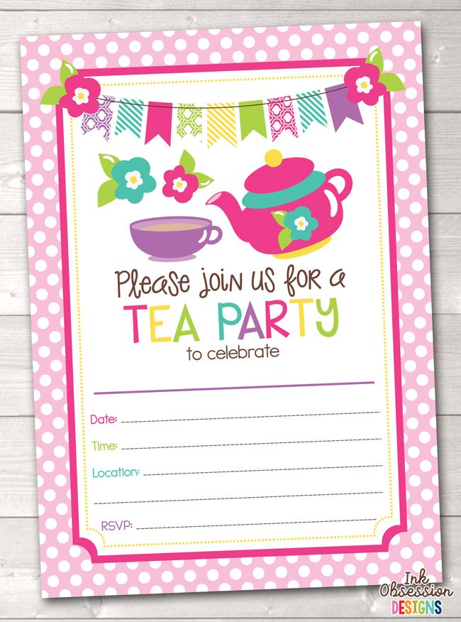 37 best Birthday Party Invitations images on Pinterest | Glamping ...