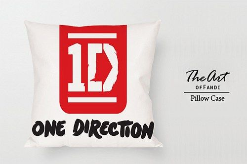 """1Direction - Custom Square 18""""x18"""" One Side Pillow Case."""