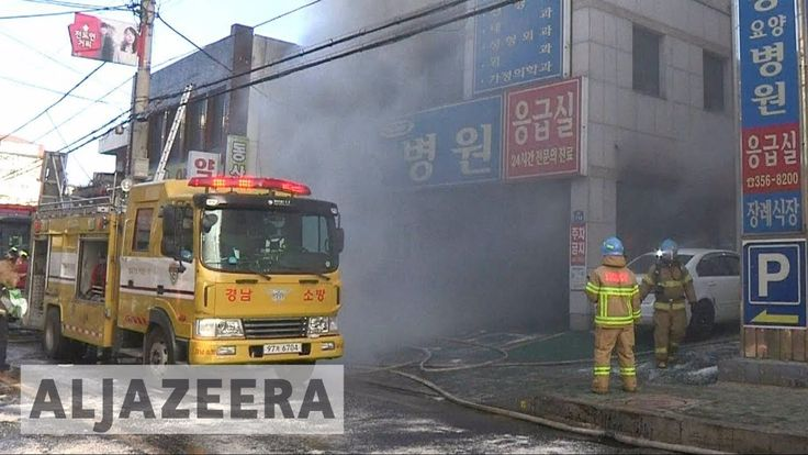 #news#WorldNewsAL Jazeera English News :  South Korea hospital fire kills dozens in Miryang