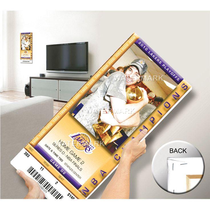 2010 NBA Finals Mega Ticket - Game 2, Gasol - Los Angeles Lakers - $63.99
