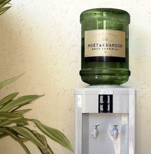 #Dental Office Team Building Exercise: Switch out the water cooler with champagne! Your staff will be more relaxed and stress free. Do you think this would work in your dental office?