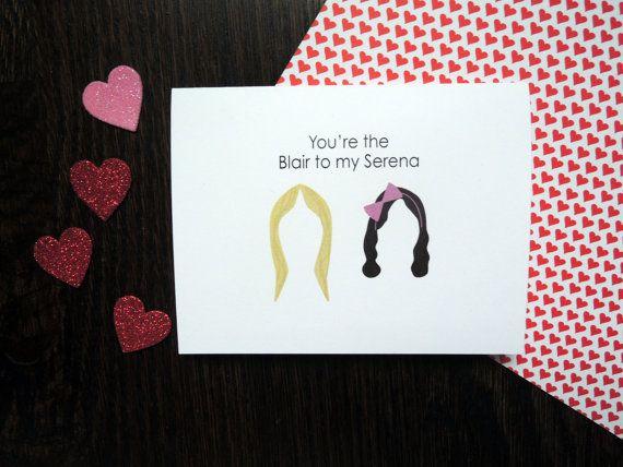 Gossip Girl Best Friends Card Friend Cards Friends And
