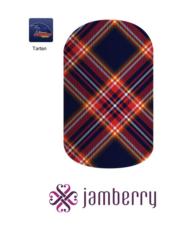 Jamberry Crows Inspiration - Tartan