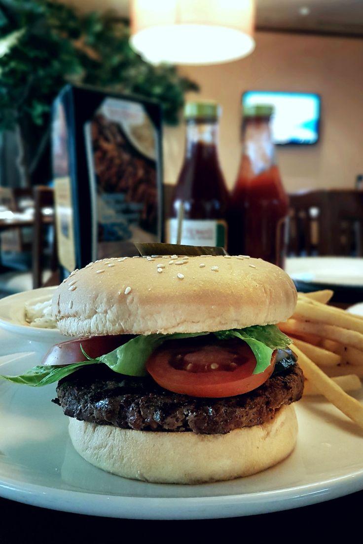 """""""Roma Burger"""", Tony Roma's, Jakarta"""