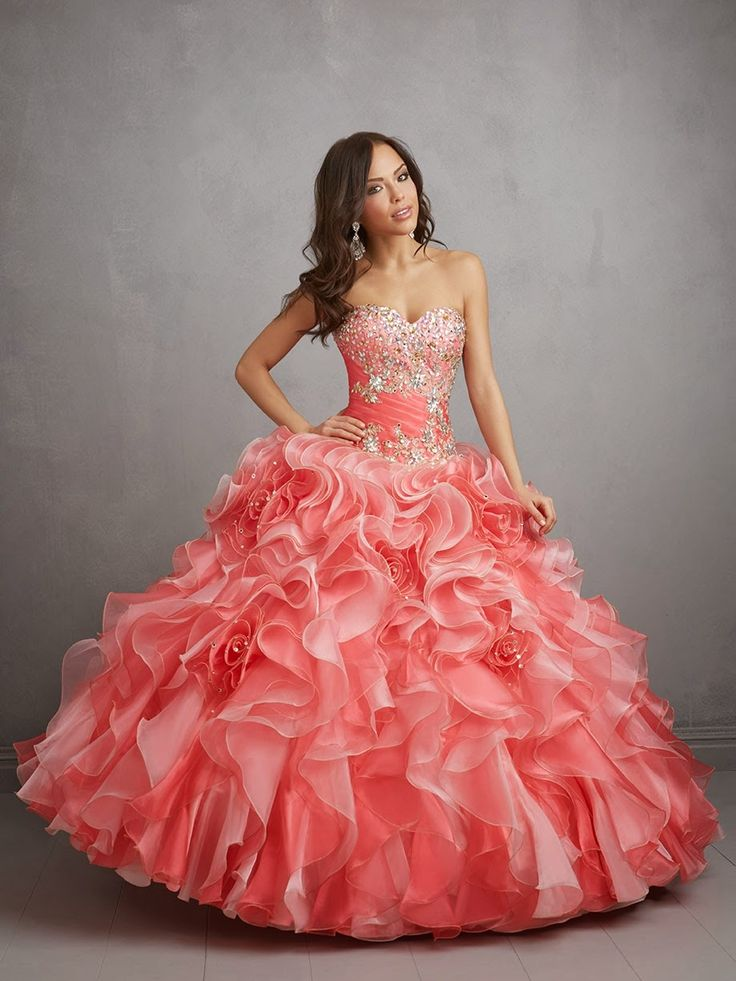 Moda para Jovencitas : Excelentes vestidos de 15 años para fiesta