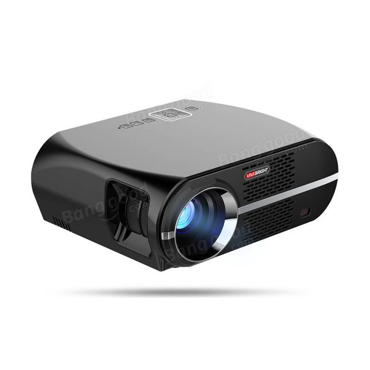 Vivibright GP100 LED Projector LCD 3500 Lumens 1280x800 Pixels 1080P HD VGA USB Home Theater Sale - Banggood.com
