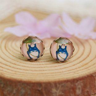 Totoro Retro Earrings //Price: $8.95 & FREE Shipping //     #totoro