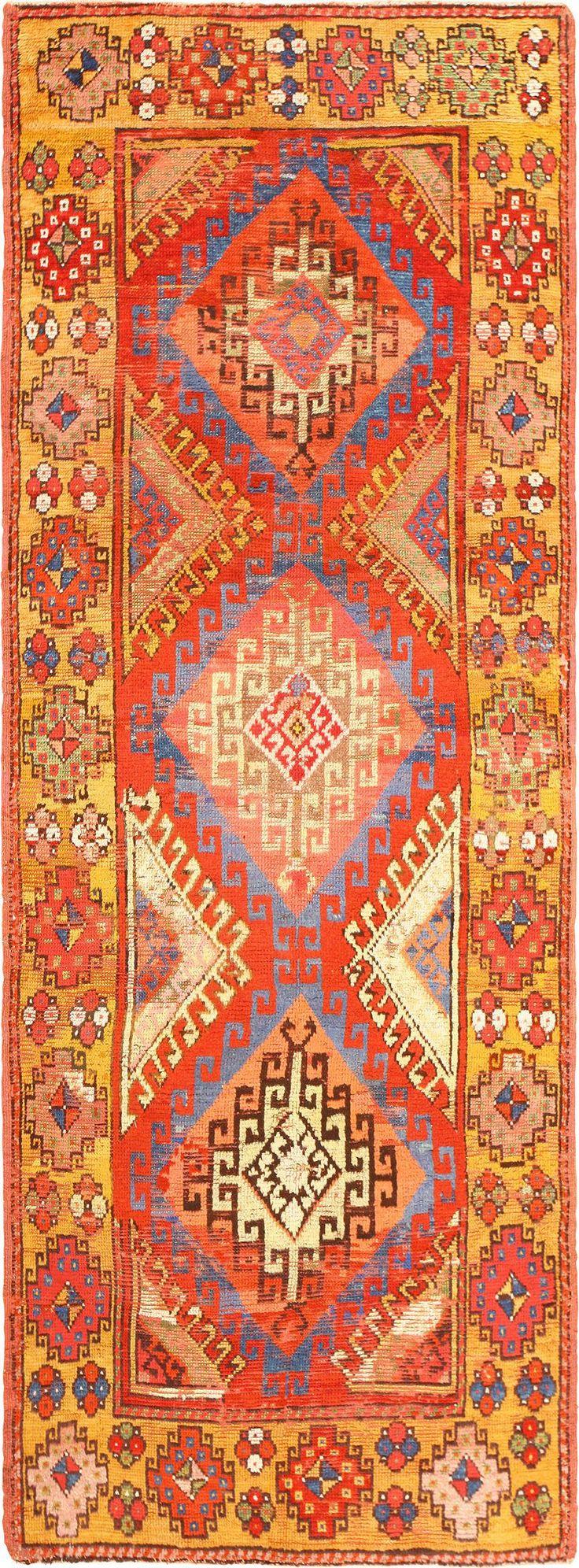 Antique Turkish Konya Rug 49100