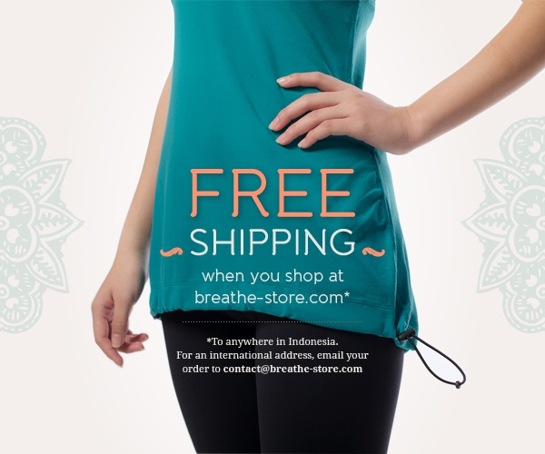 Free shipping, when you shop at breathe-store.com