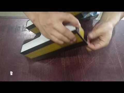 LKS Technology: Side lighting of LED Channel letter using UV resin...