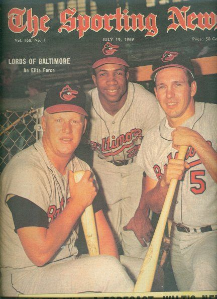 3 Great Orioles; Boog Powell, Frank Robinson & Brooks Robinson my brother pitched for the O's 76-84 Sammy Stewart Throwin Swannanoan